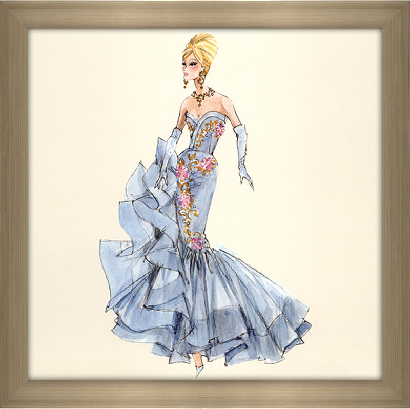 Blue Dress Barbie® 10th Anniversary