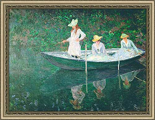 Boating At Giverny