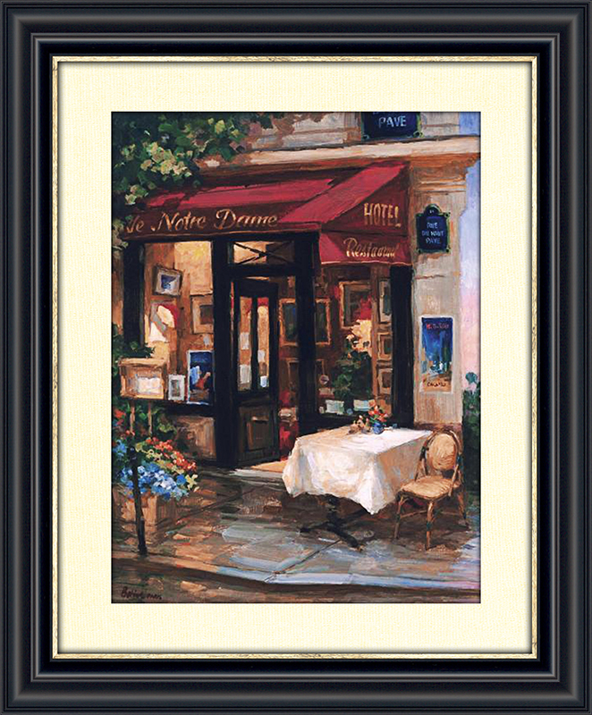 Cafe at Sunrise, Paris