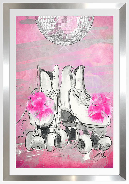 "BY Jodi ""Runaway With Me 2"" Framed Plexiglass Wall Art"