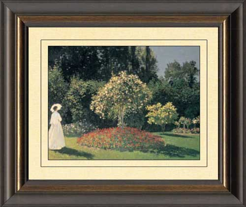 Lady in the Garden
