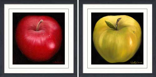 Red Apple & Yellow Apple