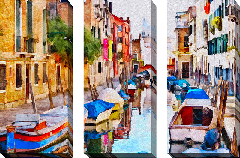 Venice Canals Watercolor XI