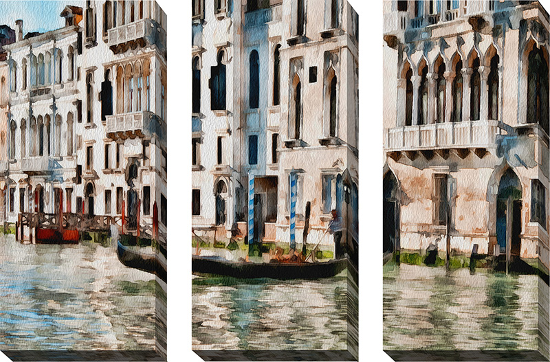 Venice Color Watercolor XIII