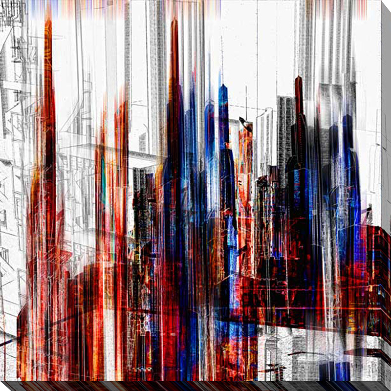 Abstract City Scene V