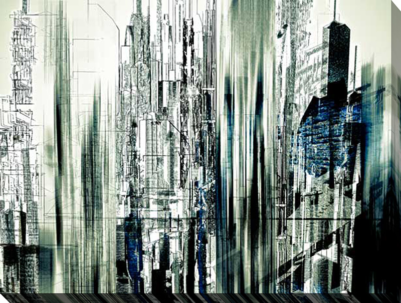 Abstract City Scene II